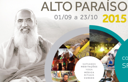 Alto Paraíso Temporada (Season) 2015 - Tenda Coletiva (Colletive Tent)2