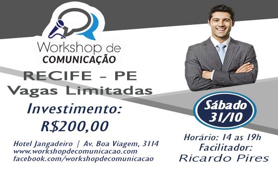 Workshop de Comunicação - Fale sem medo do público