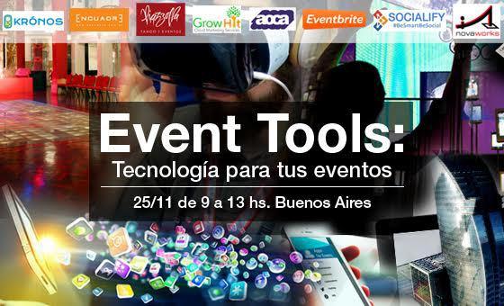 Event Tools: Tecnología para tus eventos