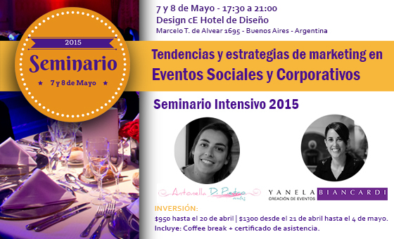 Tendencias y MKT en Eventos Sociales y Corporativos